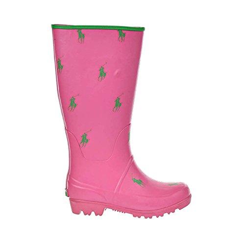 POLO BY RALPH LAUREN Kids' Proprietor Repeat TodPre (Fuchsia/Green 3.0 - Women Boots For Polo Lauren Ralph