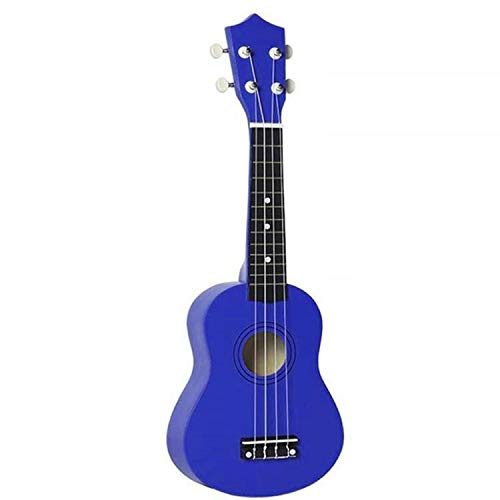 Freealive Uke New Basswood Soprano Ukulele Hawaii Guitar 21 inch Gift for Friend Children (blue) …
