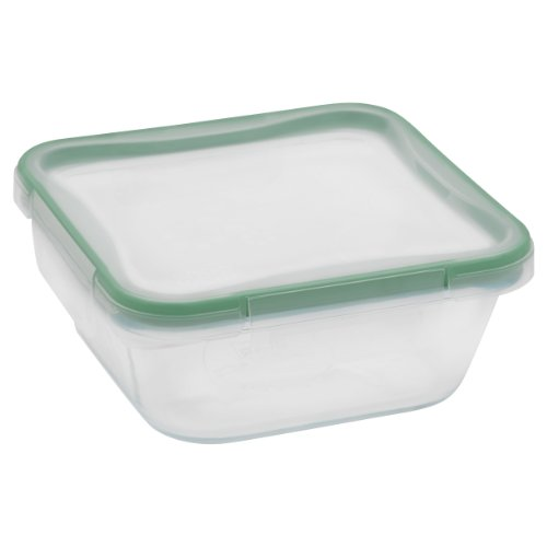 Snapware 4-Cup Total Solution Square Food Storage Container,