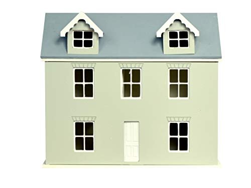 Willow Dollhouse Kit - Melody Jane 1:24 Scale Dollhouse Willow Cottage Kit Ready to Assemble Unpainted Flat Pack