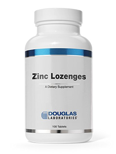 - Douglas Laboratories - Zinc Lozenges - Zinc Citrate Supports Immunity, Reproduction, and Skin* - 100 Lozenges
