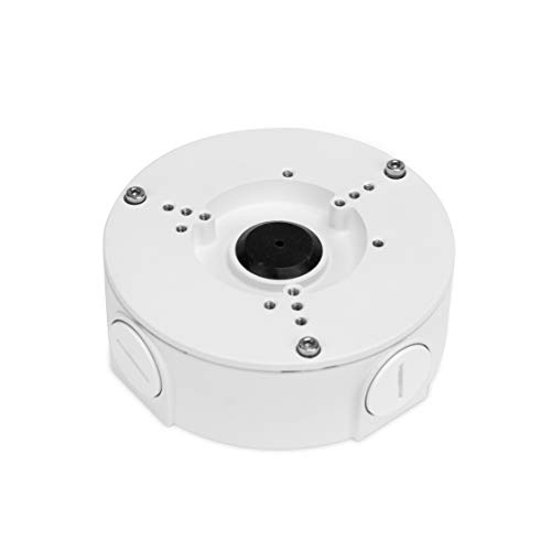 Amcrest AMCPFA130-E Water-Proof Junction Box for Bullet Cameras, Compatible w/ AMC721BC36, AMC1081BC36, AMC1080BC36, IP2M-843EB, IP3M-943, IP3M-954E, IP2M-854E, IP5M-1173E, IP8M-2496EB