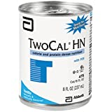 Twocal Hn With Fos High Nitrogen Liquid Nutrition Ready To Use (Vanilla) 8-Fl-Oz Can - 1 Case Of 24
