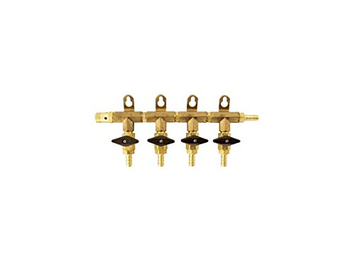 Gas Manifold - 4 Way