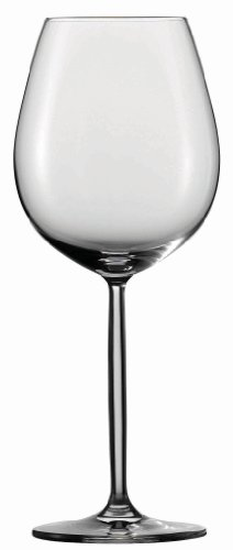 Schott Zwiesel Tritan Crystal Glass Diva Stemware Collection Goblet/Wine/Water Glass, Set of 6