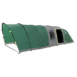 Coleman Inflatable Tent 6 Man Valdes 6 L, Camping Tunnel Tent with Air Poles, Air Tent Six Man, Family Blow Up Tent with…