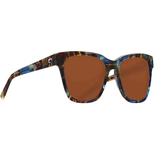 Costa Coquina Multi-Color Plastic Frame Copper Lens Unisex Sunglasses CQA204OCGLP ()