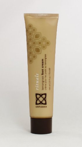 Akhassa Foot Cream, Lemongrass, 2.3oz - Lemongrass Foot Creme