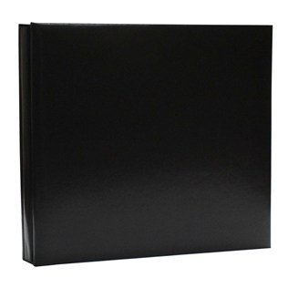 12-x-12-black-bonded-leather-post-bound-memory-album-by-the-paper-studio-for-hobby-lobby-black
