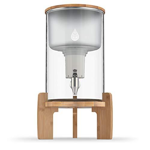 pH Recharge Glass Alkaline Water Filter Ionizer