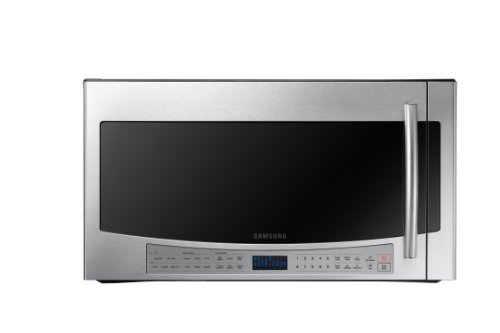 Samsung ME21F606Over-The-Range Microwave with Sensor Cooking, 2.1 Cubic Feet