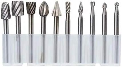 Countersink 8pcs 1//2 Inch Shank H Twist Drill Bit Set 9//16 to 1 Inch Twist Drill for Wood Metal Wood Working Tool