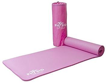 Esterilla de deporte/Colchoneta de fitness/entrenamiento de Espuma NBR - Para Pilates, Gimnasio, Yoga, Ejercicio. PhysioWorld