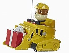 Paw Patrol Christmas Ornament Rubble