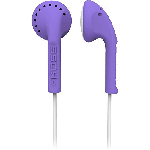 Koss KE10V Scalped Stereo Earbuds, Violet by Koss