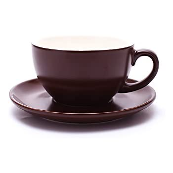 ba7358c4bd5 Coffeezone Double Espresso Coffee Cup and Saucer