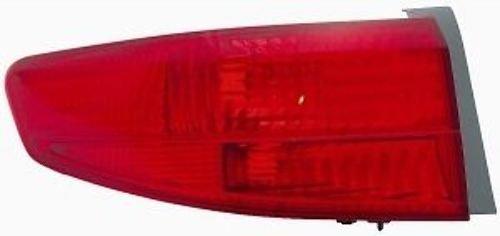 05 HONDA ACCORD SEDAN/HYBRID Left Driver Rear Tail Light Lamp