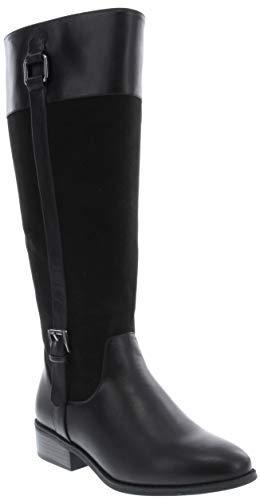 London Fog Hanover High Riding Boot Black 6.5