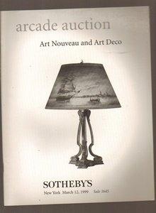 Stotheby's New York: Arcade Auction: Art Nouveau and Art Deco: 1645: March 12, 1999