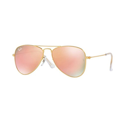 Ray-Ban Junior Unisex RJ9506S 50mm (Youth) Matte Gold - Aviators Ray Ban Junior