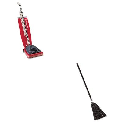 KITEUKSC684FRCP2536 - Value Kit - Rubbermaid Lobby Pro Synthetic-Fill Broom (RCP2536) and Commercial Vacuum Cleaner, 16quot; (EUKSC684F)