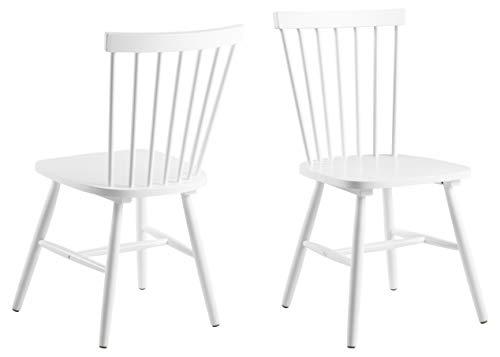 AC-Design-Furniture-63658-Silla-de-Comedor-Susanne-Rubberwood-2-Unidades-Color-Blanco-Lacado