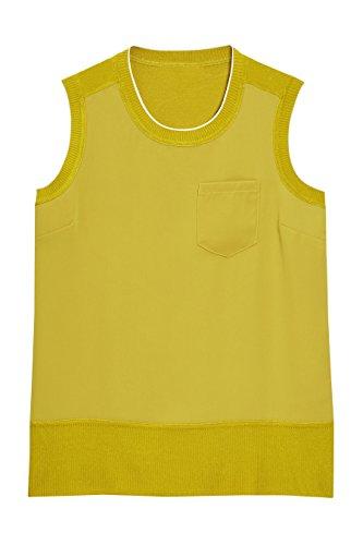 next Mujer Top Corte Regular Camisa Ropa Citrino