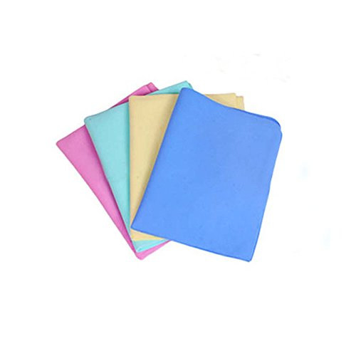 Synthetic Chamois Leather Car Washing Wipe Towel Absorber Cloth - 4