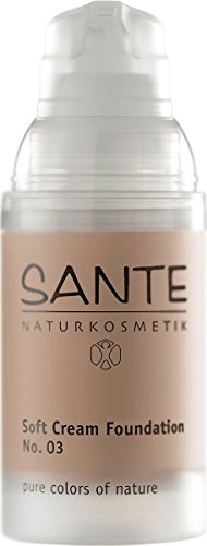 (Sante Soft Cream Foundation, Sunny Beige 03, 1.01 Fluid Ounce)