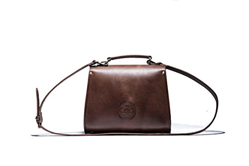Victoria Handbag (Chocolate Brown)
