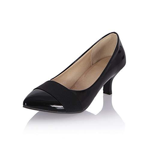 Pumps Fashion Colors Assorted Womens Travel Black Shoes APL10393 Urethane BalaMasa AB4fYwqx