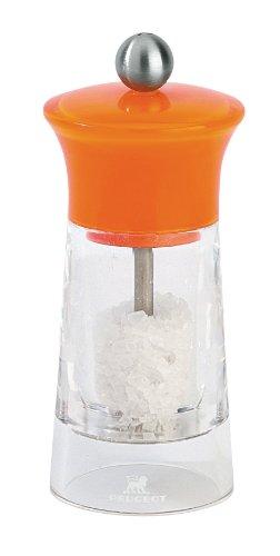 Peugeot Malaga 5-1/2-Inch Salt Mill, Orange