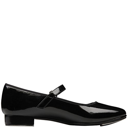 American Ballet Theatre for Spotlights Girls' Smooth Black Girls' Mary Jane Tap Shoe 9.5 Regular by American Ballet Theatre for Spotlights (Image #1)