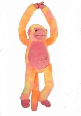Amazon.es: KT 20 Pulgadas Amarillo / Naranja Brazos Largos del Mono Loco con el Sonido Manos: Juguetes y juegos