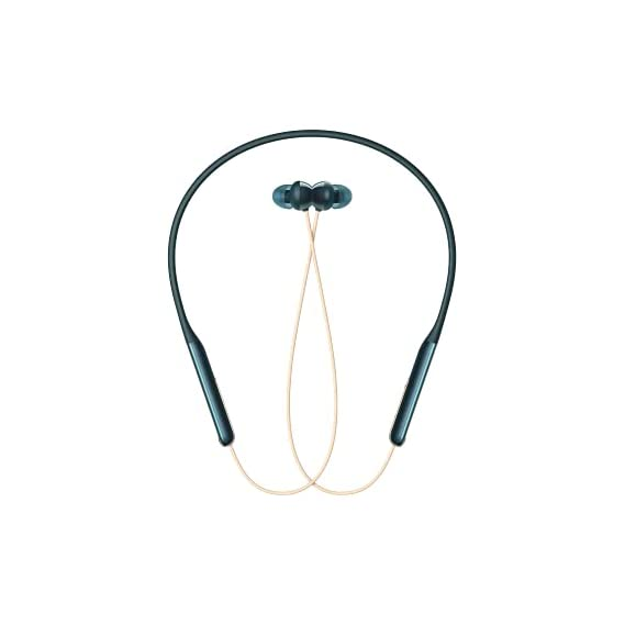 OPPO Enco M31 Bluetooth Neckband Earphones with Mic, Support AI-Powered Noise Reduction During Calls, Long Battery Life for Calls and Music, IPX5 Water Resistant,Supports Android and iOS(Green)