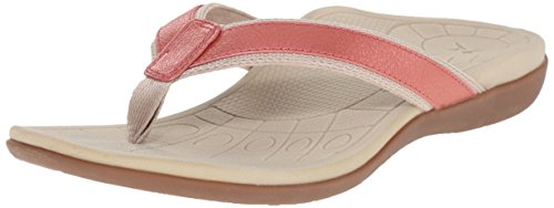 Aetrex Women's Venus Sporty Thong Dress Sandal Rose