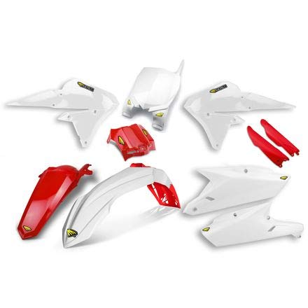 Cycra Plastic Kit (14-18 YAMAHA YZ250F: Cycra Powerflow Plastic Kit (WHITE/RED))