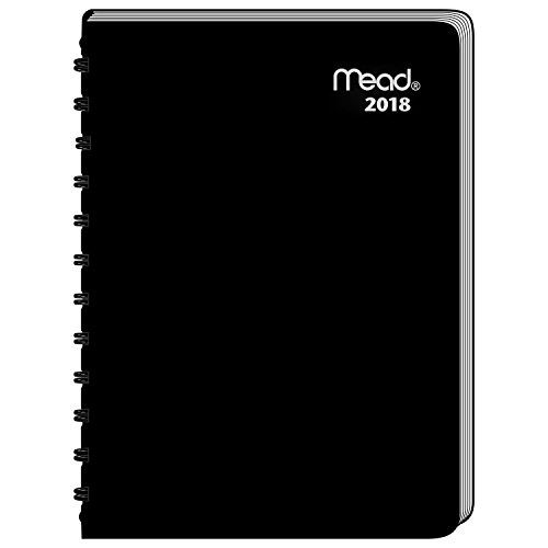 Mead Weekly / Monthly Appointment Book / Planner, January 2018 - December 2018, 4-7/8
