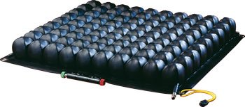 (ROHO Low Profile Quadtro Select Seating and Positioning Wheelchair Seat Cushion 18 x 16 x 2 )