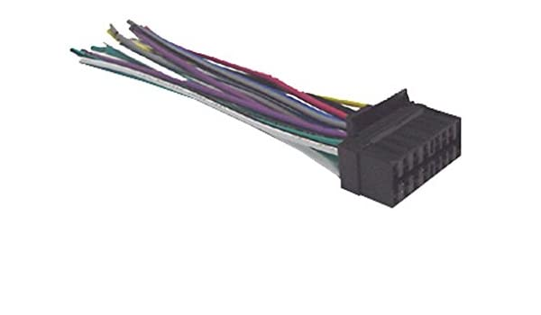 sony xplod wiring harness colors amazon com mobilistics wire harness fits sony cdx gt65uiw  cdx  wire harness fits sony cdx gt65uiw  cdx