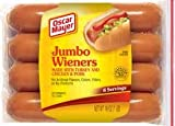 OSCAR MAYER FRANKS HOT DOGS JUMBO WEINERS 16 OZ PACK OF 3