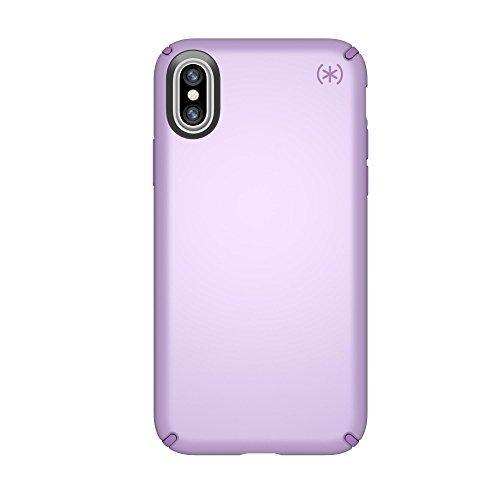 Speck 103135-6600  Products Presidio Metallic Case for iPhone X, Taro Purple Metallic/Haze Purple