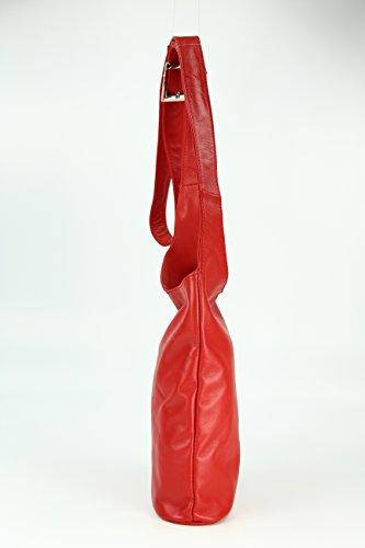 Belli, Borsa a tracolla donna Rosso rosso