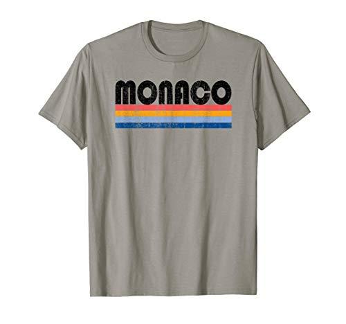 Vintage 70s 80s Style Monaco T-Shirt ()
