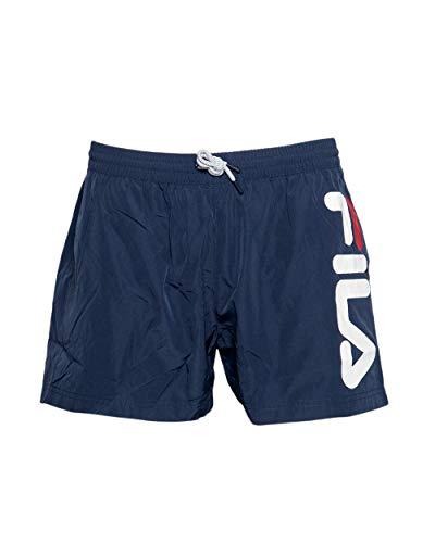 Fila Badehose Herren Michi Beach Shorts 687739 170 Black Iris Dunkelblau