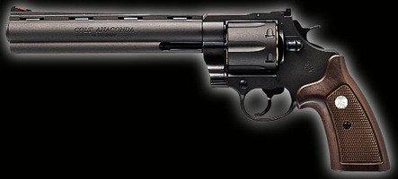 マルシン コルト アナコンダ 8インチ ブラック HW 8mm Xカートリッジ仕様