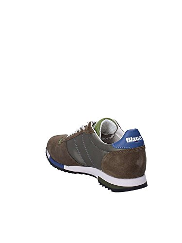 NYL Verde 44 Militare Sneakers 8SQUINCY01 Uomo Blauer Bwpq0Ox
