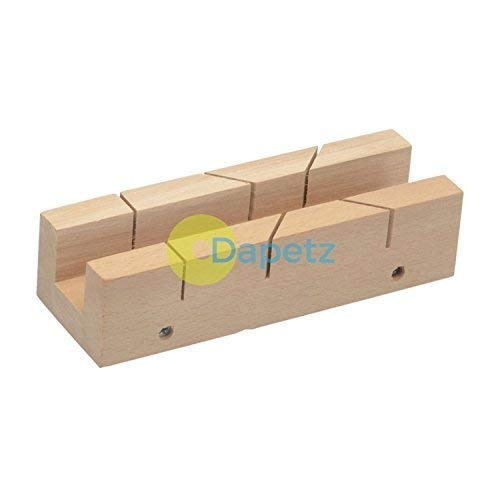 Daptez /® Mitre Box 190 X 55mm Precise Accurate Cutting Mitres Butt Joints DIY