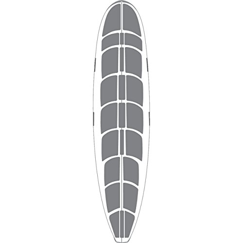 Surfco Hawaii 9' 6'' Hot Grip Wax Mat Longboard Traction Pad by Surfco Hawaii
