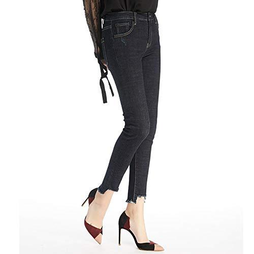Jeans Femme elastisch dnn MVGUIHZPO Warm Fleece Mode Jeans Cowboy XL Winterjeans Neue gwdTx5Tqa